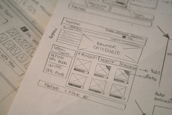Layout to Build a Website
